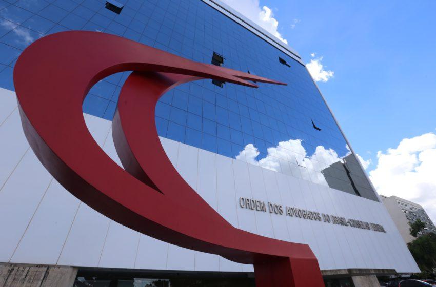 Sindsaúde assina carta de apoio às ações da OAB Nacional