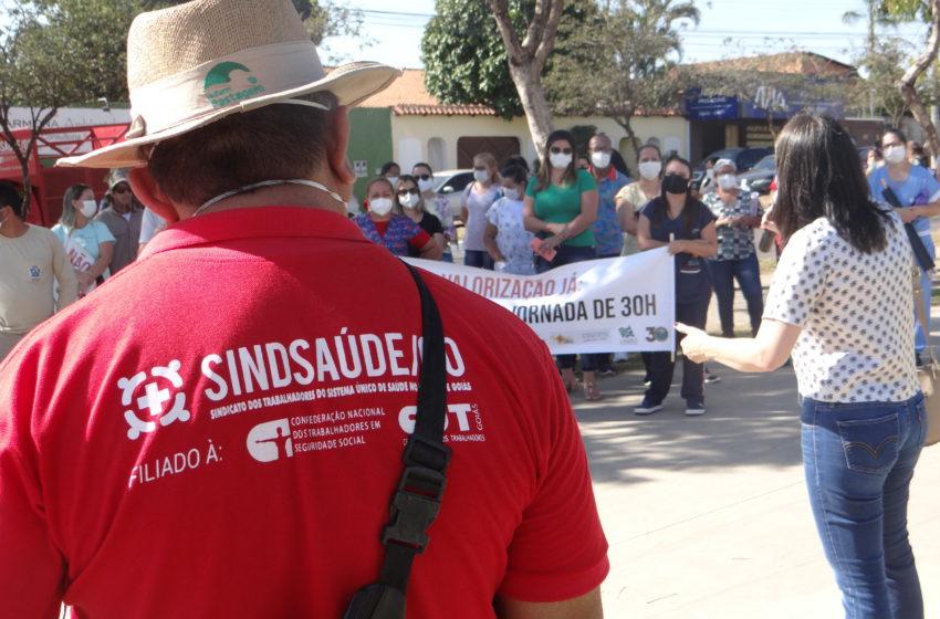 Servidores de Aparecida de Goiânia vão paralisar atendimento nas unidades de saúde no dia 24
