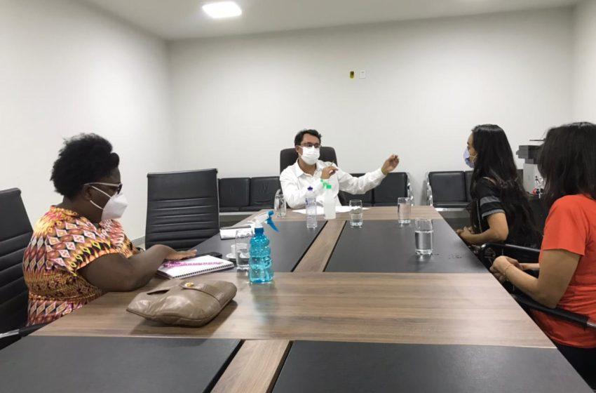 Sindsaúde se reúne com vereador Jean Carlos em busca de apoio para negociar pauta dos trabalhadores da saúde de Anápolis