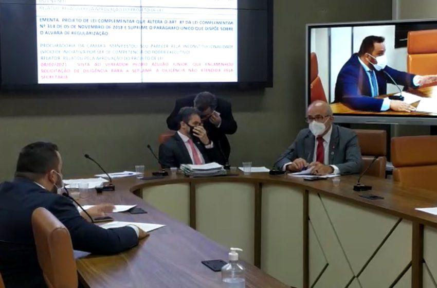 GOIÂNIA: relator do projeto do quinquênio justifica atraso na entrega do relatório à CCJ