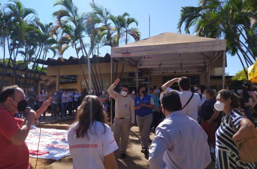 Servidores da saúde de Aparecida de Goiânia agendam passeata para a próxima sexta (11)