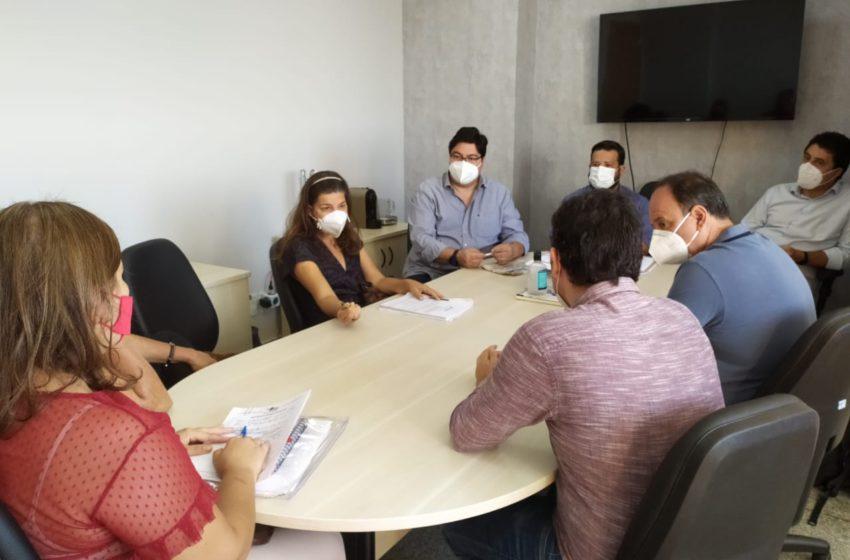 Diretores do Sindsaúde discute reivindicações da saúde com equipe do prefeito Gustavo Mendanha