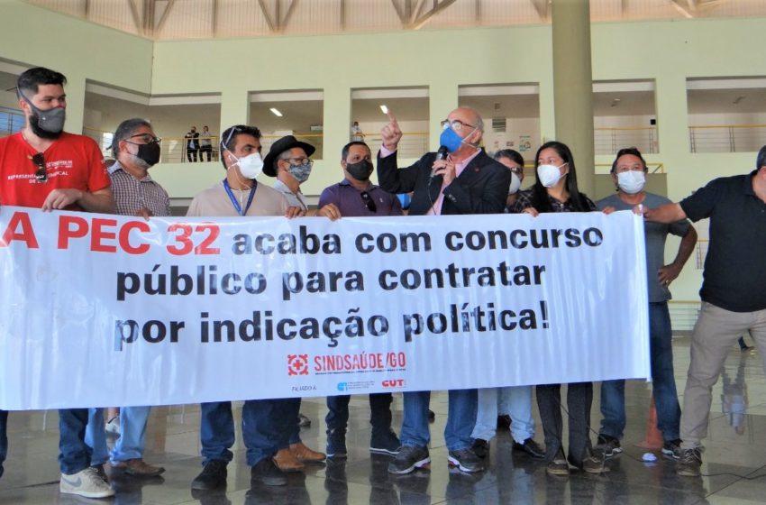 Entidades sindicais alertam para os prejuízos da PEC 32