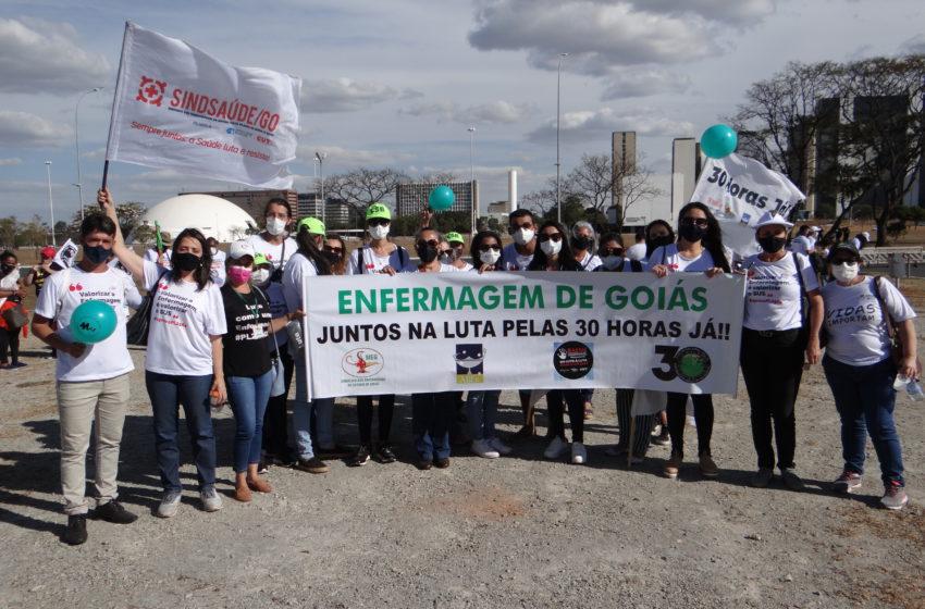 Sindsaúde presente no Dia Nacional da Saúde em Brasília