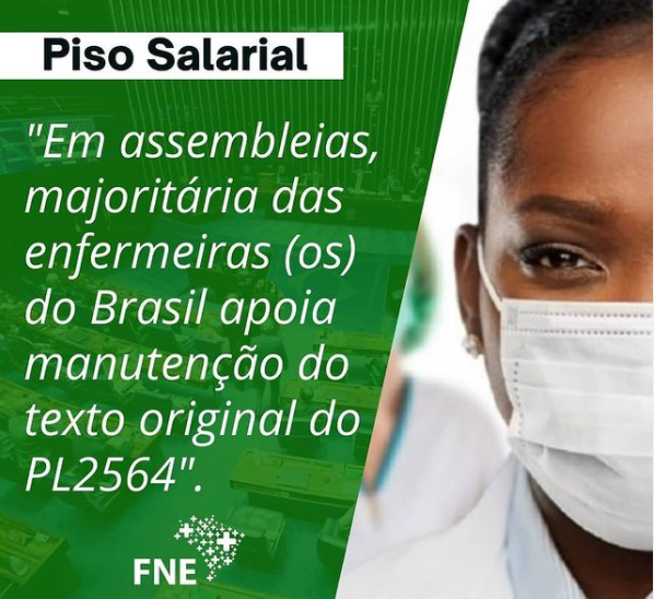 SINDSAÚDE INFORMA: Por meio da FNE, confira o resultado das assembleias realizadas em todo Brasil sobre a PL 2564