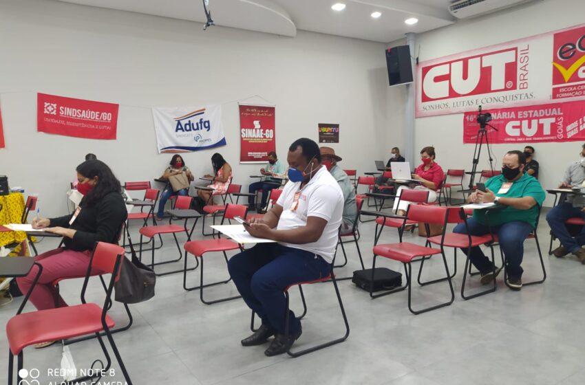 Diretor do Sindsaúde substitui cargo do Mauro Rubem na CUT Goiás