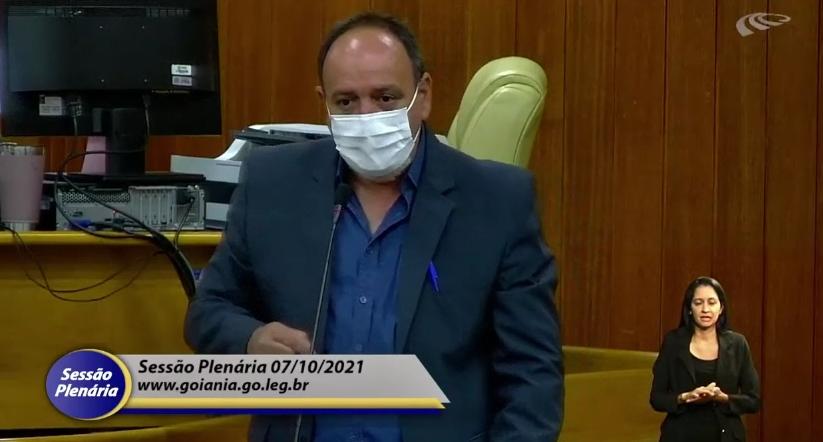 Durante sessão na Câmara, Sindsaúde cobra o pagamento da data-base dos servidores de Goiânia